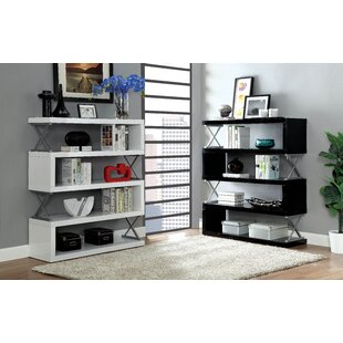 Telma 5 Shelf Standard Bookcase by Brayden Studio