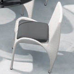 Rivage Stacking Patio Dining Chair with Cushion