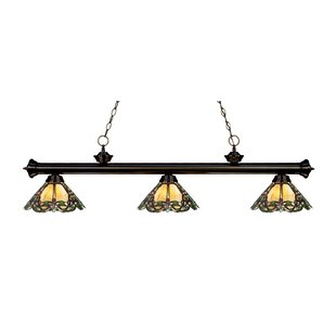 Fleur De Lis Living Billington 3-Light Pool Table Lights