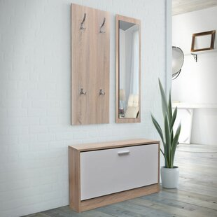 Wooden 3 Piece Hallway Set By Ebern Designs