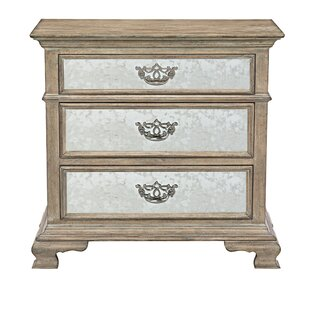Campania Mirrored 3 Drawer Bachelor's Chest by Bernhardt