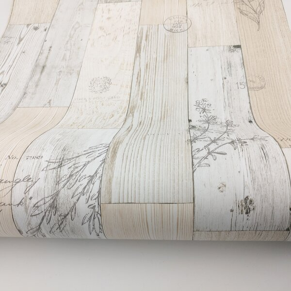 Ophelia Co Paloma Wood Panel Pattern Contact Paper Latina 9 8 L X 19 6 W Distressed Peel And Stick Wallpaper Roll Reviews Wayfair