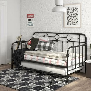 Willow Metal Twin Bed with Trundle