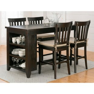 Annmarie 5 Piece Pub Table Set..