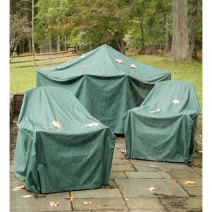 Plow & Hearth All-Weather Fire Pit Cover
