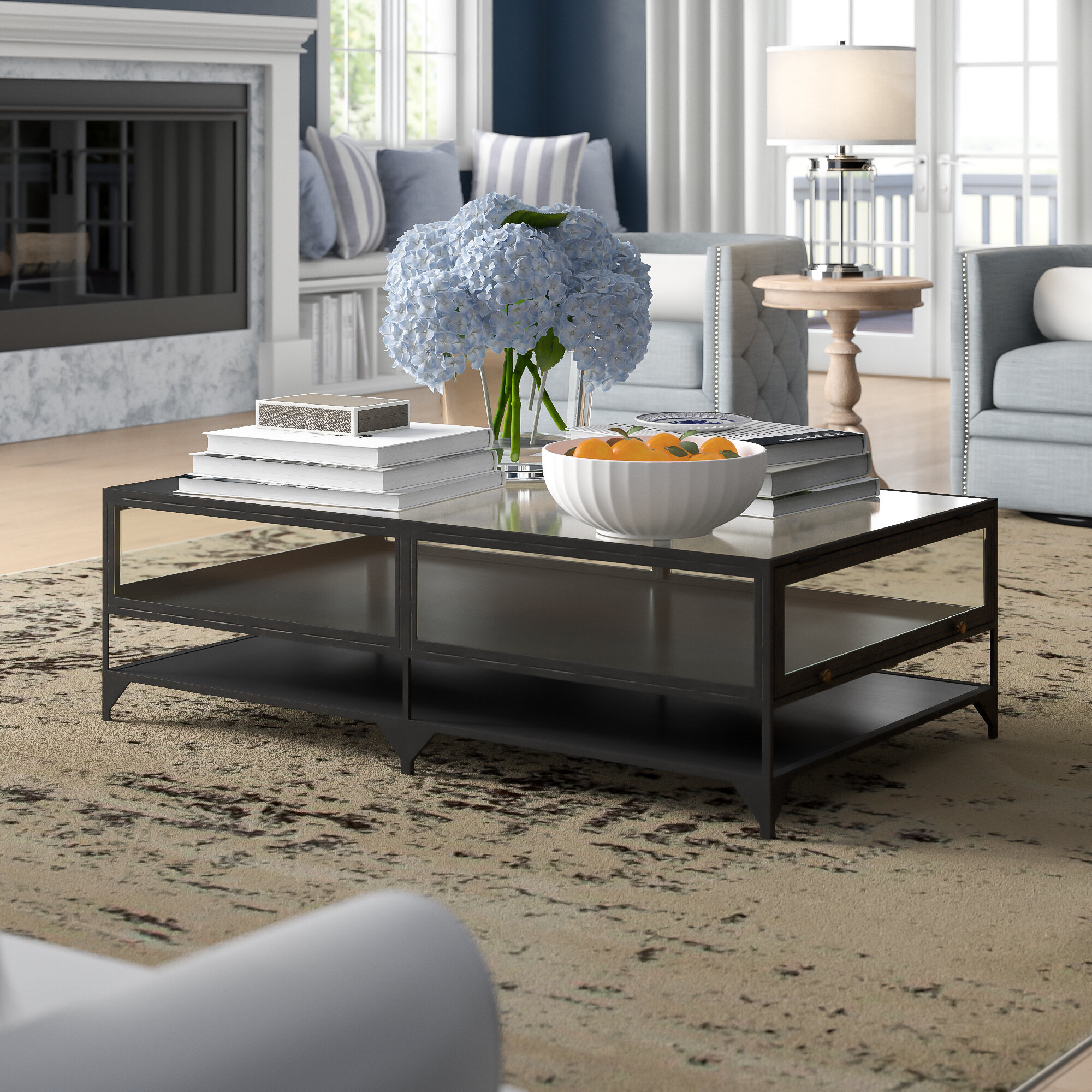 Brown Glass Lift Top Coffee Tables You Ll Love In 2021 Wayfair