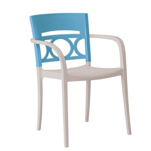Vannest Stacking Patio Dining Chair (Set of 16)