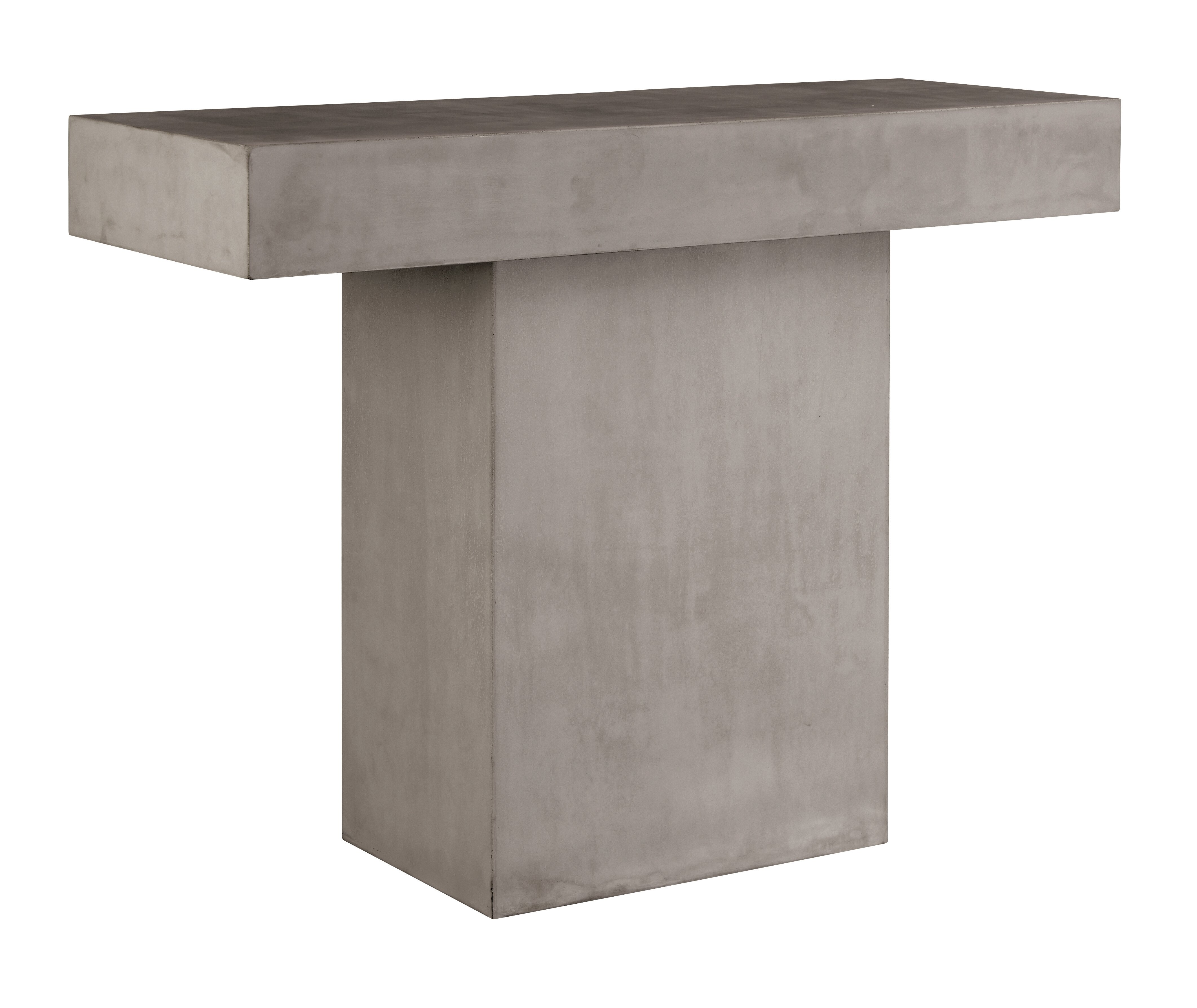 Seasonalliving Banda Concrete Console Table Perigold