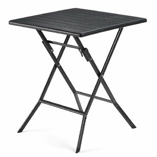 Itzhak Folding Plastic Bistro Table By Sol 72 Outdoor