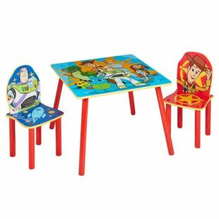 Starboard Children's 3 Piece Table And Chair Set By Zoomie Kids