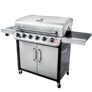 Performance? 6-Burner Liquid Propane Gas Grill with Cabinet by Char-Broil