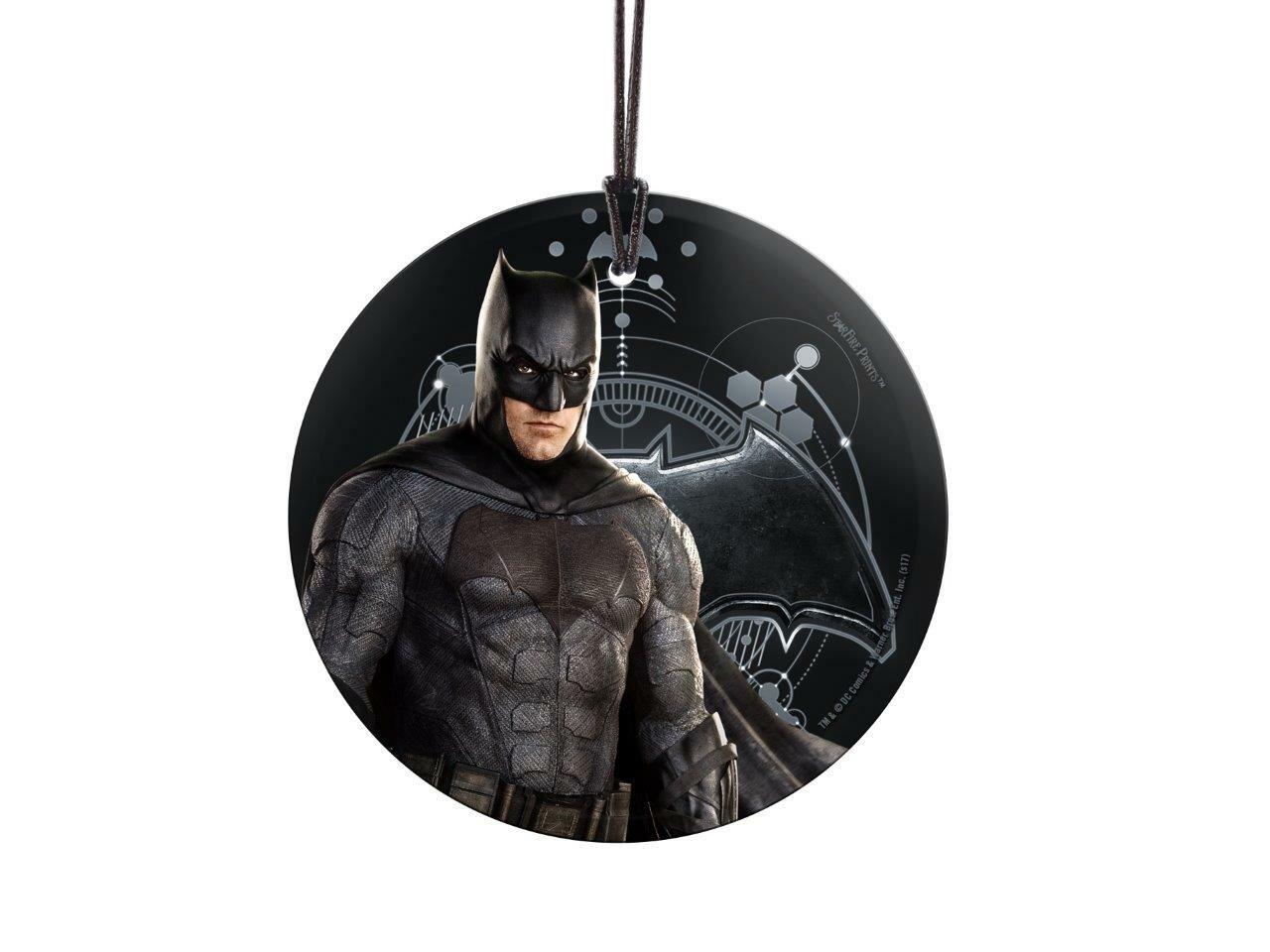 Trend Setters Justice League Movie Batman Hanging Glass Shaped