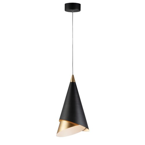 Mercer41 Coggeshall 1 Light Single Cone Led Pendant Wayfair Ca