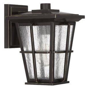 Eastvale 1-Light Outdoor Wall Lantern by Red Barrel Studio