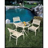 Kahana 4 Piece Bistro Set