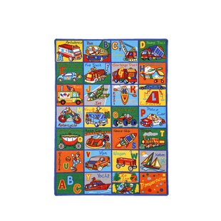 Inexpensive Hyden Green/Orange/Blue Area Rug ByZoomie Kids
