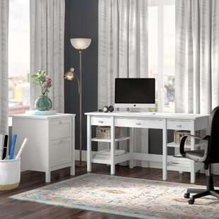 Lux Computer Desk by Andover Mills Amazing
