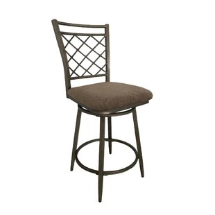 Crumrine Swivel Bar Stool (Set Of 2) by Fleur De Lis Living Sale
