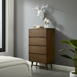 Burruss Wood 4 Drawer Chest by George Oliver