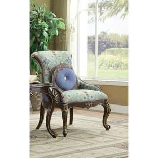 Swafford Wooden Side Chair With Pillow by Astoria Grand Sale