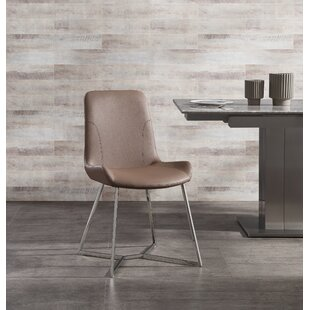Violetta Upholstered Dining Chair (Set of 2) Brayden Studio