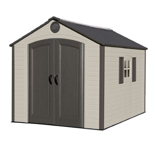 8 Ft. W X 10 Ft. D Plastic Storage Shed By Lifetime