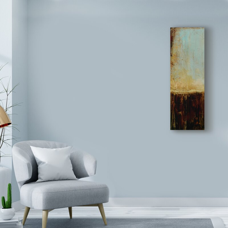 'Flying Without Wings I' Acrylic Painting Print on Wrapped Canvas