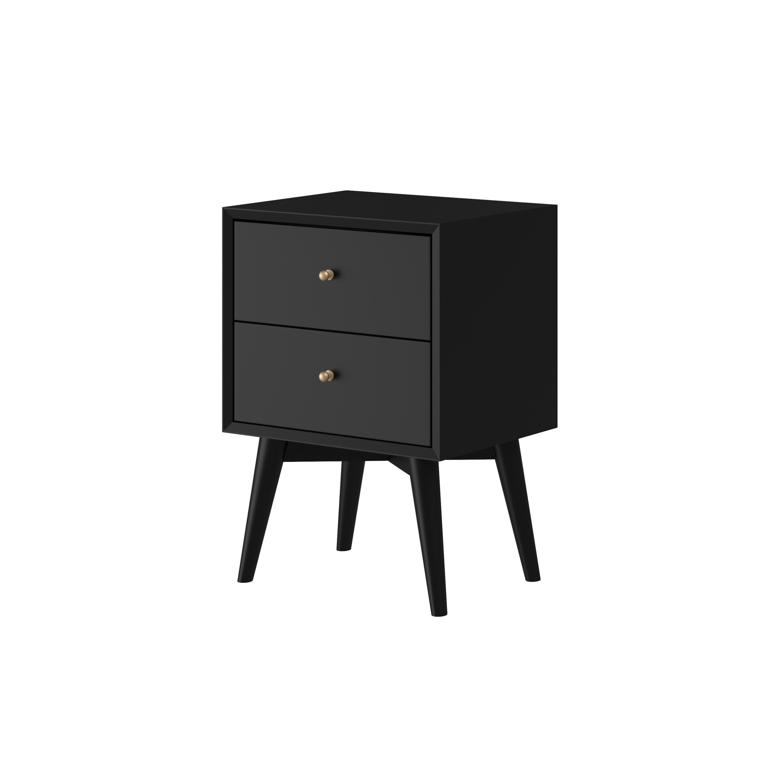 Black Nightstands You Ll Love In 2021 Wayfair