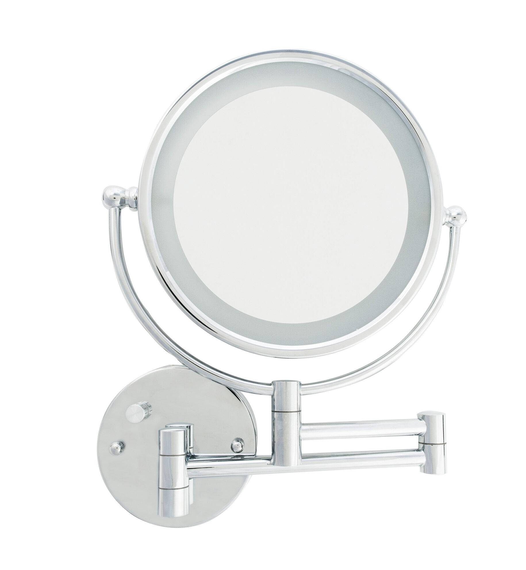 Danielle Creations Led Wall Mount Makeup Shaving Mirror Wayfair Jerdon Mounted Wiring Diagram