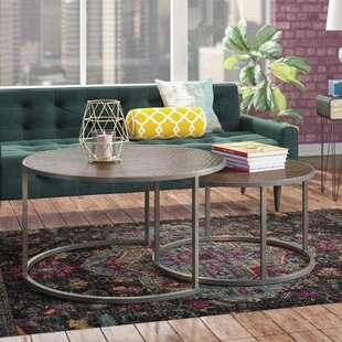 Brayden Studio Hunsicker 2 Piece Coffee Table Set