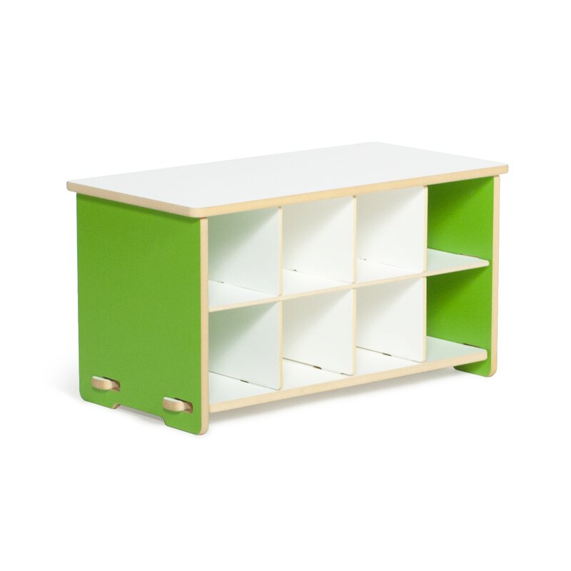 Halle Kids Cubby Shoe Storage Bench