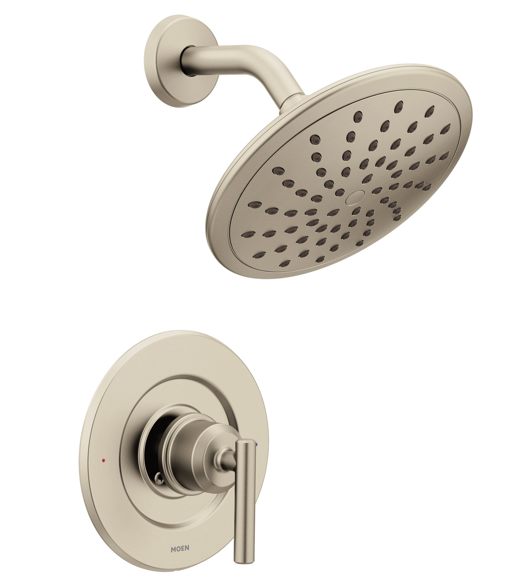 Moen Gibson Posi Temp One Handle Tub And Shower Faucet With Diverter Reviews Wayfair