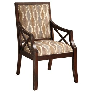 Fabric Armchair in Espresso by Coast to Coast Imports LLC