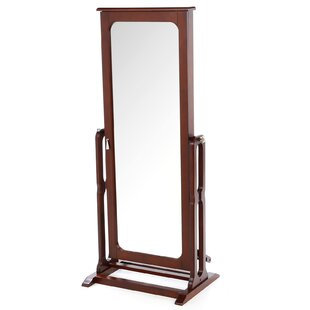 Alcott Hill Gonson Cheval Jewelry Armoire with Mirror