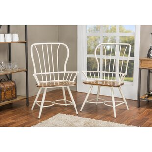 Hartin Windsor Back Arm Chair Set of 2