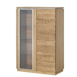 Atoll Standard Display Cabinet By Gracie Oaks