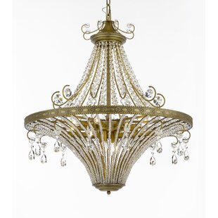 Burchfield 12-Light Crystal Chandelier by..