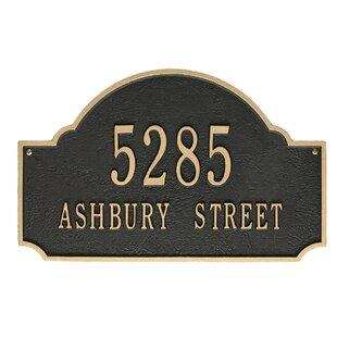 Address Plaques U0026 House Numbers