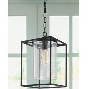 Didmarton Glass 1-Light Foyer Pendant