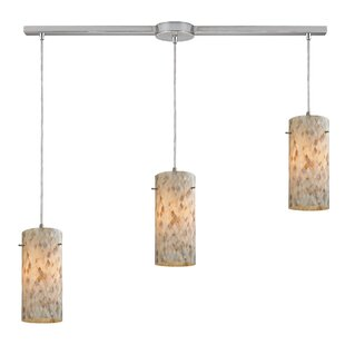 Roehampton 3-Light Cluster Pendant by Beachcrest Home