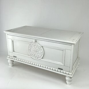 Alfano Carved Storage Accent Chest by Bloomsbury Market