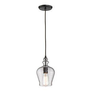 Comparison Topete 1-Light Bell Pendant ByBrayden Studio