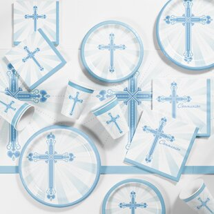 Communion Blessings Paper Appetizer/Dinner Plate (Set of 127)