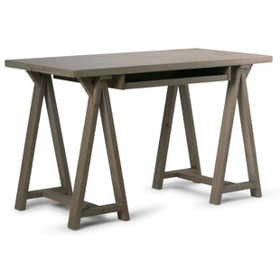 Reviews Sawhorse Desk By Simpli Home