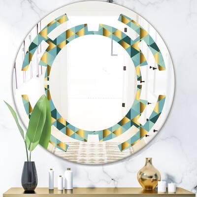 Mercer41 Louise Accent Mirror Reviews Wayfair