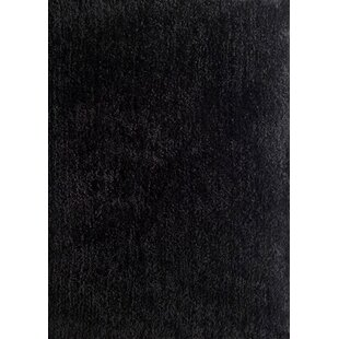 Harmony Black Shag Area Rug By Rug Factory Plus