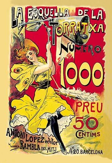 Buyenlarge La Esquella De La Torratxa By L Labarta Vintage Advertisement Wayfair