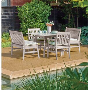 Breakwater Bay Laney 5 Piece Outdoor Dining Set