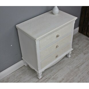 Ecker 3 Drawer Chest Of Drawers By Lily Manor