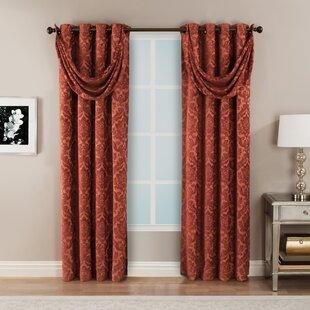 Living Room Drapes And Valance | Wayfair